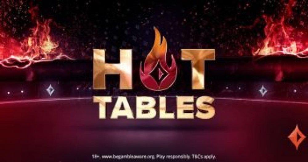 Выигрывайте до $ 500 в прибыльных горячих столах!