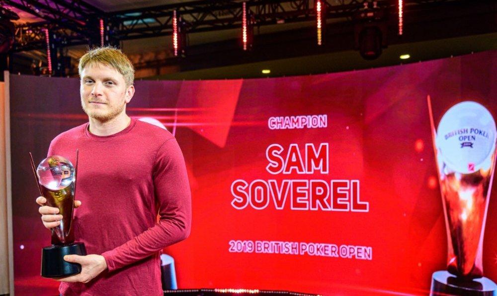Сэм Соверел признан лучшим игроком British Poker Open 2019