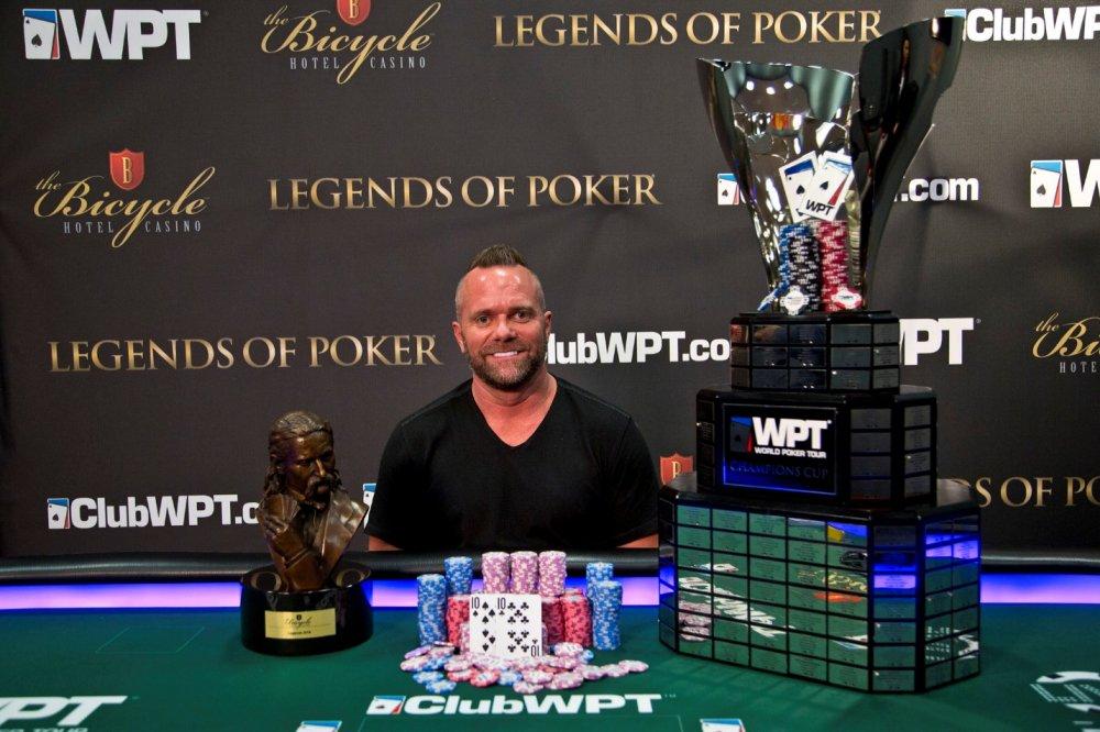 Американец Аарон Ван Бларкум – победитель Legends of Poker Main Event на WPT