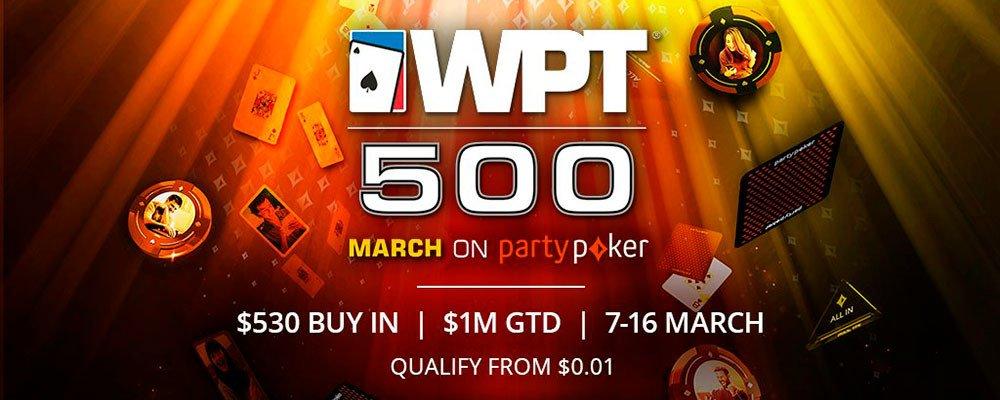 Миллионы призов на серии WPT500