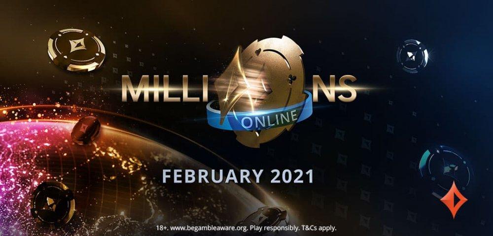 Впервые - турнирный фестиваль MILLIONS Online от partypoker