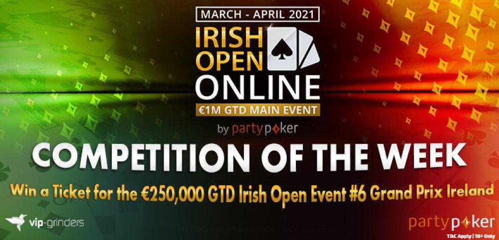 Стартовало главное событие Irish Open Online